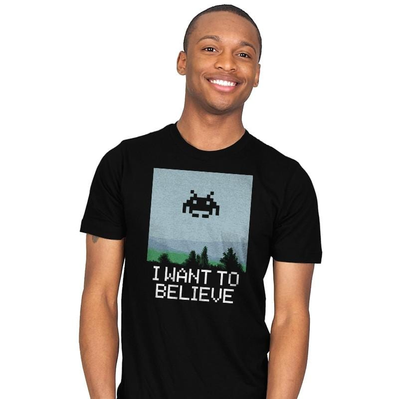I WANT TO BELIEVE - Mens - T-Shirts - RIPT Apparel