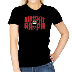 Wreck-It Raph Exclusive - Womens - T-Shirts - RIPT Apparel