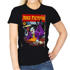 Joke Fiction HA - Womens - T-Shirts - RIPT Apparel