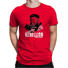 Save The Rebellion Exclusive - Mens Premium - T-Shirts - RIPT Apparel