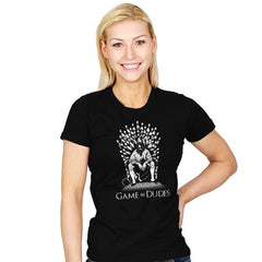 Game of Dudes - Womens - T-Shirts - RIPT Apparel