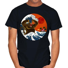 Great Monster From Kanagawa - Mens - T-Shirts - RIPT Apparel