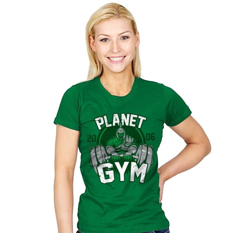 Planet Gym - Womens - T-Shirts - RIPT Apparel