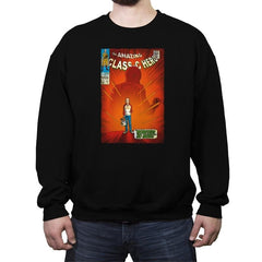 The Amazing Class-C Hero - Crew Neck Sweatshirt - Crew Neck Sweatshirt - RIPT Apparel
