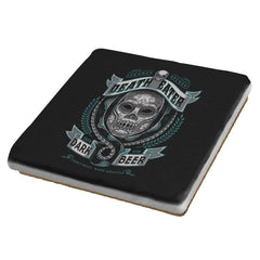 Deathly Dark Beer - Coasters - Coasters - RIPT Apparel