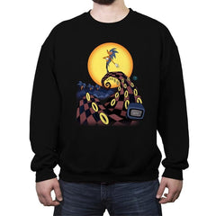 Nightmare Of The Rings - Crew Neck Sweatshirt - Crew Neck Sweatshirt - RIPT Apparel