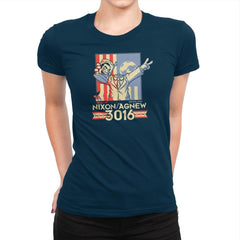 Nixon : Agnew 3016 Exclusive - Womens Premium - T-Shirts - RIPT Apparel