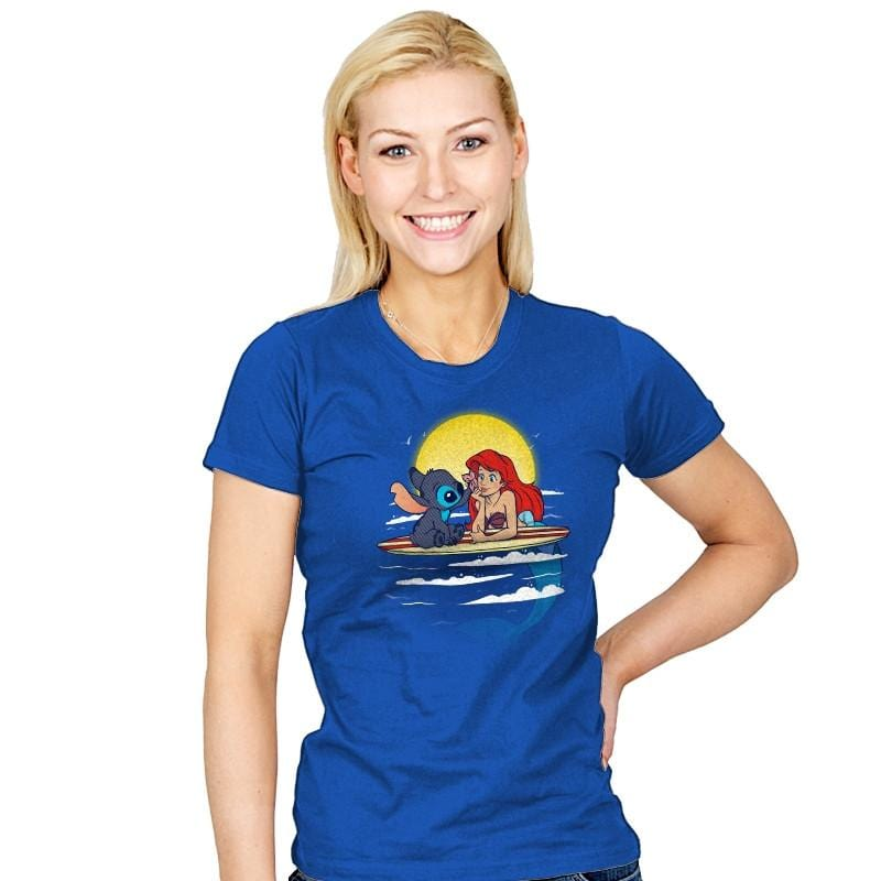 Aloha Mermaid - Womens - T-Shirts - RIPT Apparel