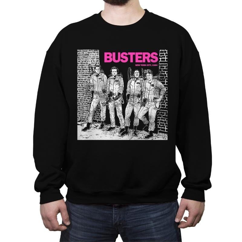 BUSTERS - Crew Neck Sweatshirt - Crew Neck Sweatshirt - RIPT Apparel