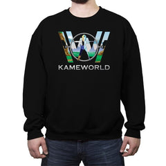 Kameworld - Crew Neck Sweatshirt - Crew Neck Sweatshirt - RIPT Apparel