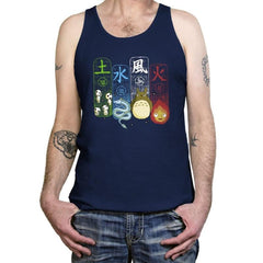 Elemental Charms - Tanktop - Tanktop - RIPT Apparel
