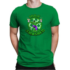 Hulk Smashed Exclusive - St Paddys Day - Mens Premium - T-Shirts - RIPT Apparel