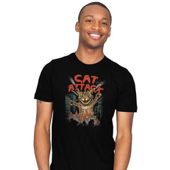Cat Attack - Mens - T-Shirts - RIPT Apparel