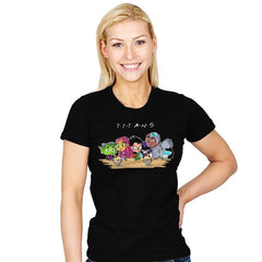 Titan Friends - Womens - T-Shirts - RIPT Apparel