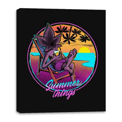 Summer Things - Canvas Wraps - Canvas Wraps - RIPT Apparel