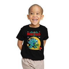 Monsters Comic - Youth - T-Shirts - RIPT Apparel