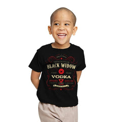 Black Widow Vodka - Youth - T-Shirts - RIPT Apparel