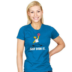 Just D'oh It Exclusive - Womens - T-Shirts - RIPT Apparel