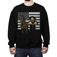 Amish 3000 - Crew Neck Sweatshirt - Crew Neck Sweatshirt - RIPT Apparel
