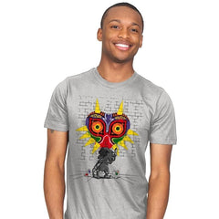 Graffiti Mask - Mens - T-Shirts - RIPT Apparel