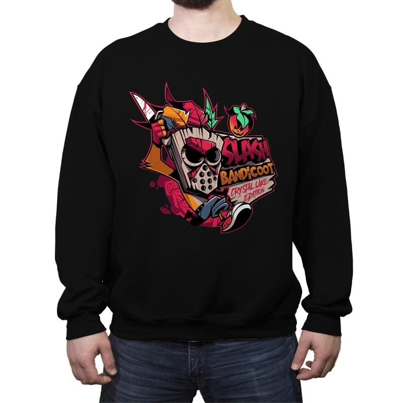 Slash Bandicoot - Crew Neck Sweatshirt - Crew Neck Sweatshirt - RIPT Apparel