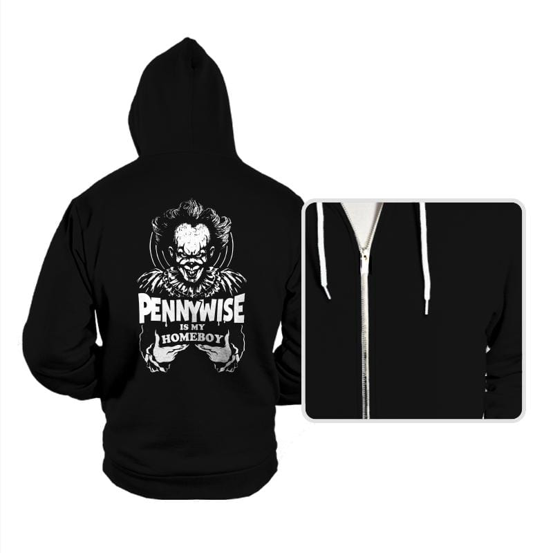 Clown Is My Homeboy - Hoodies - Hoodies - RIPT Apparel