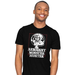 Arrogant Monster Hunter - Mens - T-Shirts - RIPT Apparel