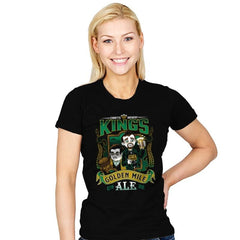 Golden Mile Ale - Womens - T-Shirts - RIPT Apparel