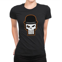 Ultra Violent Punisher - Womens Premium - T-Shirts - RIPT Apparel
