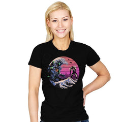 Retro Wave EVA - Womens - T-Shirts - RIPT Apparel