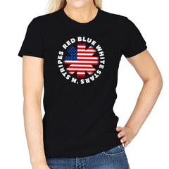 America Pepper - Star-Spangled - Womens - T-Shirts - RIPT Apparel