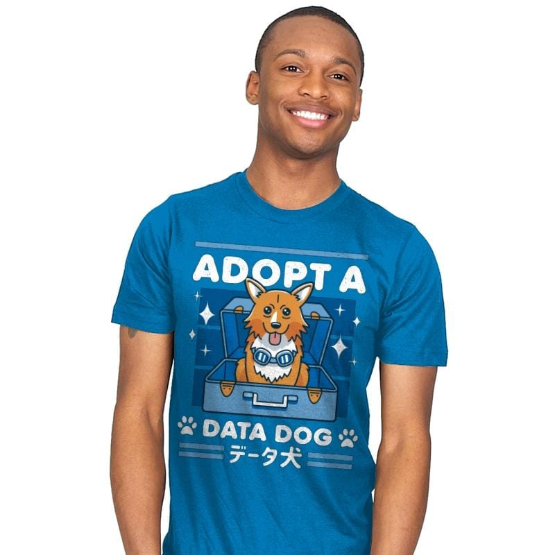 Adopt a Data Dog - Mens - T-Shirts - RIPT Apparel