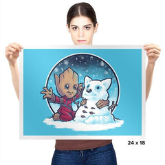 Snow Guardians - Prints - Posters - RIPT Apparel