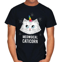 Meowgical Caticorn - Mens - T-Shirts - RIPT Apparel