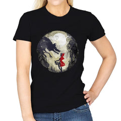 Little Red Head - Womens - T-Shirts - RIPT Apparel