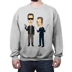 T800 and T1000 - Crew Neck Sweatshirt - Crew Neck Sweatshirt - RIPT Apparel