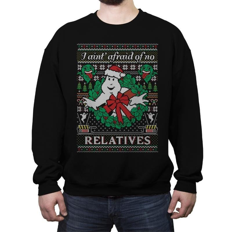 Jingle Busters - Ugly Holiday - Crew Neck Sweatshirt - Crew Neck Sweatshirt - RIPT Apparel