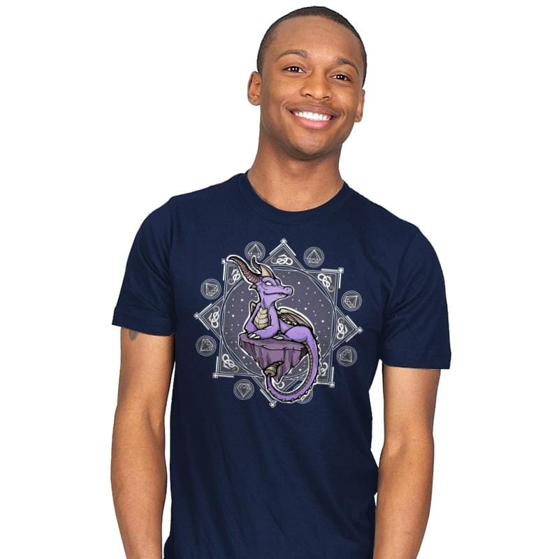 Violet Dragon - Mens - T-Shirts - RIPT Apparel