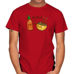 Hi Pho - Mens - T-Shirts - RIPT Apparel