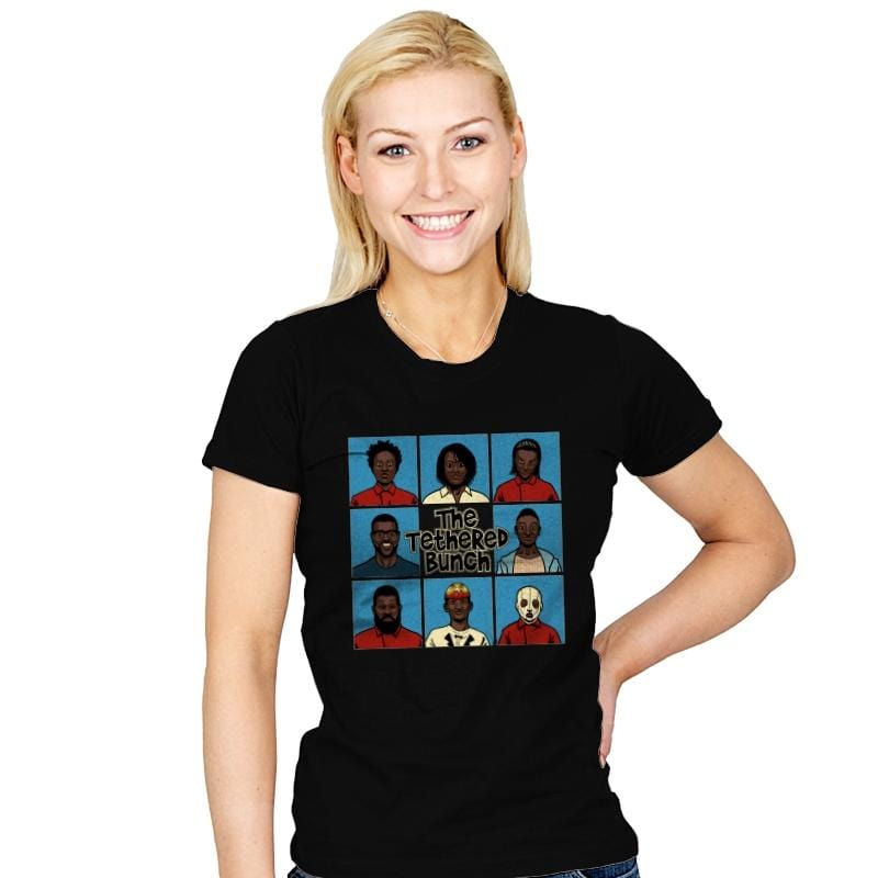 The Tethered Bunch - Womens - T-Shirts - RIPT Apparel