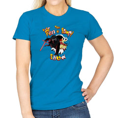 K. Ren & Stimpy Show Exclusive - Womens - T-Shirts - RIPT Apparel