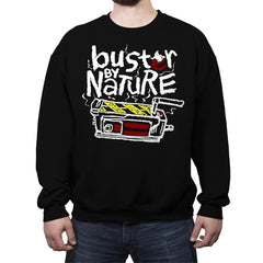 Buster By Nature - Crew Neck Sweatshirt - Crew Neck Sweatshirt - RIPT Apparel