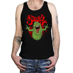 Slimy Ghost - Tanktop - Tanktop - RIPT Apparel