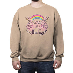 Whatevs! - Crew Neck Sweatshirt - Crew Neck Sweatshirt - RIPT Apparel