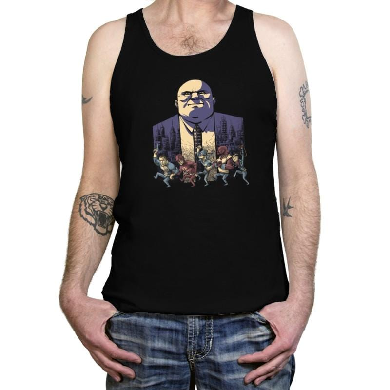Where The Wild Heroes Are - Tanktop - Tanktop - RIPT Apparel