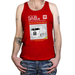1984 Cab Repair Manual Exclusive - Shirtformers - Tanktop - Tanktop - RIPT Apparel