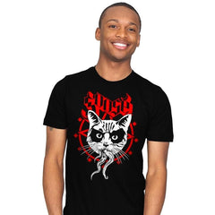 Black Metal Cat - Mens - T-Shirts - RIPT Apparel