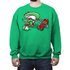 Xenoyoshi - Crew Neck Sweatshirt - Crew Neck Sweatshirt - RIPT Apparel
