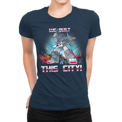 We Built This City! Exclusive - Womens Premium - T-Shirts - RIPT Apparel