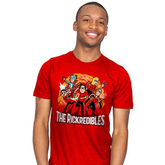 The Rickredibles - Mens - T-Shirts - RIPT Apparel